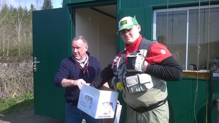 April Fly Fishing in Edinburgh Prize Draw